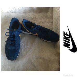 b8327356a1c Nike Shoes - Nike Internationalist Shoes -Retro Blue Yellow Men